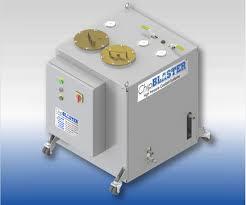 Chip Blaster Coolant Through